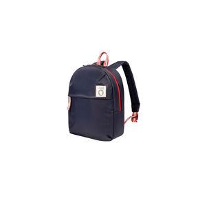 Lipault Ines De La Fressange Backpack XS in the color Blue.