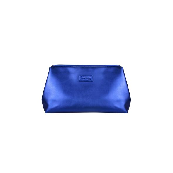 Lipault Miss Plume Toiletry Kit in the color Exotic Blue.