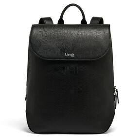 Lipault Invitation Medium Laptop Backpack in the color Black.