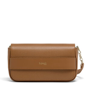 Lipault Invitation Evening Clutch in the color Caramel.