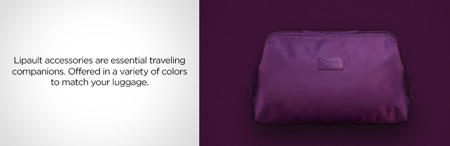 Lipault Accessories - Lipault accessories are essential traveling companions. Offered in a variety of color to match your luggage. Shop Now.