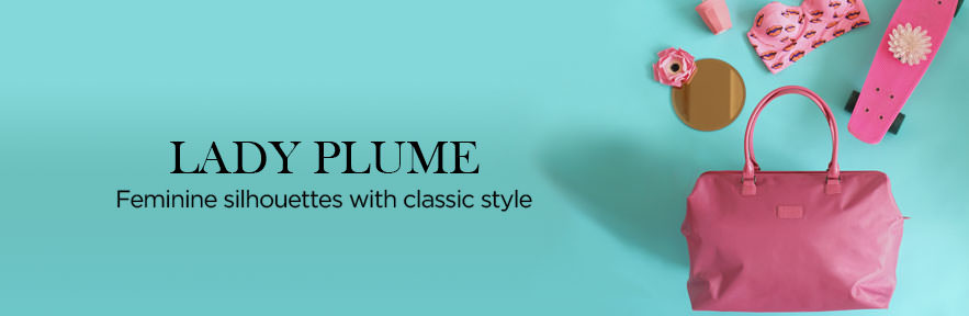 Lipault Lady Plume Collection. Feminine Silhouettes, with classic styling. Shop Now.